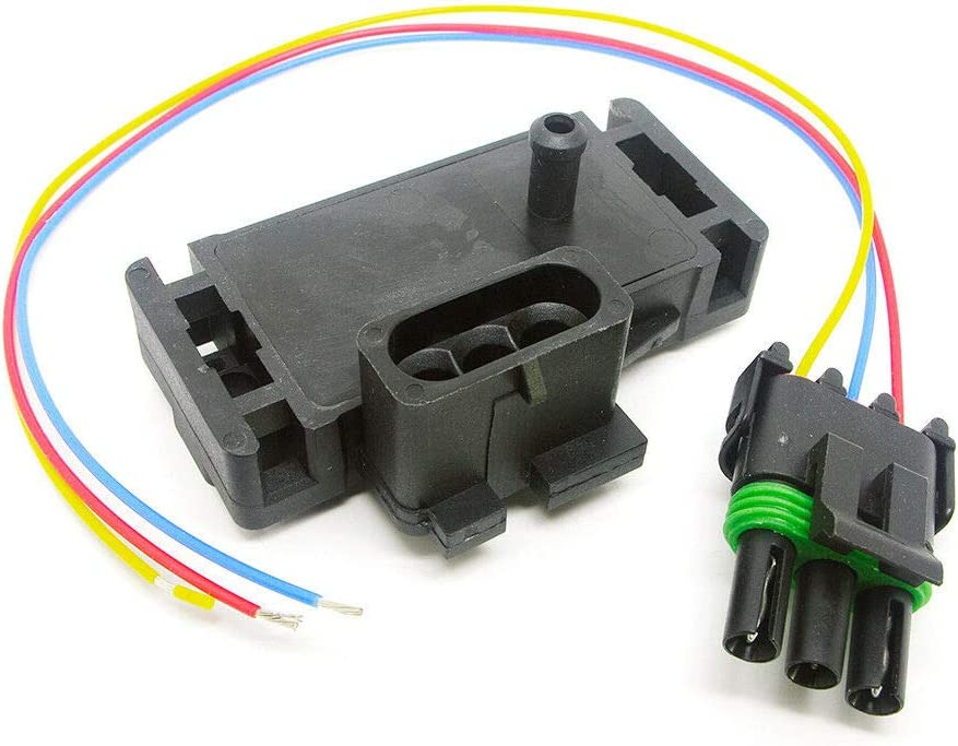 For Various GM Models 3 BAR Max 80% OFF Online limited product Connector Pigtail with Sensor MAP