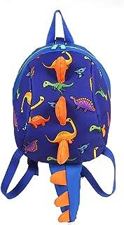 Mochila para niños Dinosaurios Mochila Infantil para Niños Primaria Pequeña Guardería Mochila Preescolar para Bebé Niño Niña de 1-6 Años (Azul)