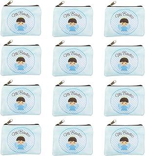12 Piezas,Monederos,Comunion niño,Bautizo niño,Comunion ni