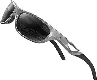 ATTCL - Hombre Deportes Gafas De Sol Polarizado Uv400 Marco De TR90 Súper Ligero
