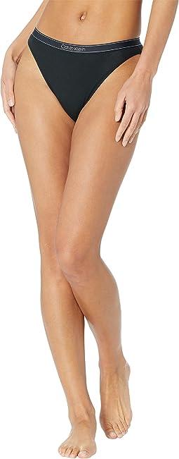 Pure Rib High Leg Bikini