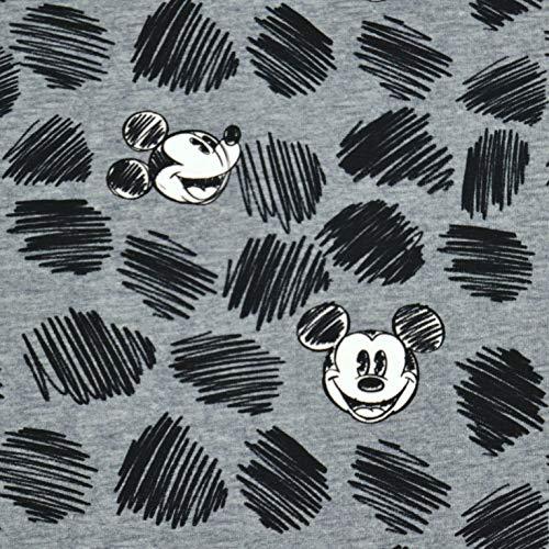 MAGAM-Stoffe Mickey Mouse Create Jersey Stoff Oeko-Tex Meterware 50cm