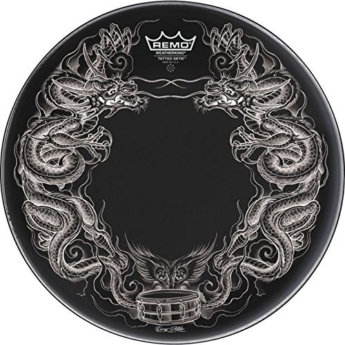 Remo Schlagzeugfell Tattoo Skyn Powerstroke 3 Bassdrum 22
