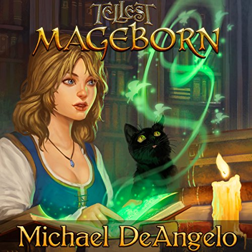 Mageborn audiobook cover art