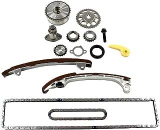 DNJ TK922VVT Timing Chain Kit for 2001-2015 / Lexus, Pontiac, Scion, Toyota/Camry, Corolla, Highlander, HS250h, Matrix, RAV4, Solara, tC, Vibe, xB / 2.0L, 2.4L / DOHC / 16V / 122cid, 2362cc, 2398cc