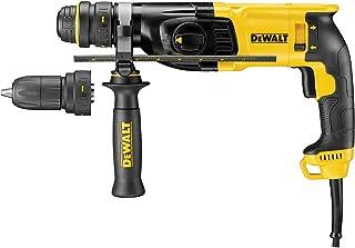 Dewalt D25134K-GB D25134K SDS+ Hammer 2kg 3 Mode with Quick Change Chuck 26mm 240V, 800 W, 240 V, Black/Yellow, 240 Volt