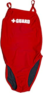 Guard Swimsuit for Women, One Piece Lycra Swimming Suit