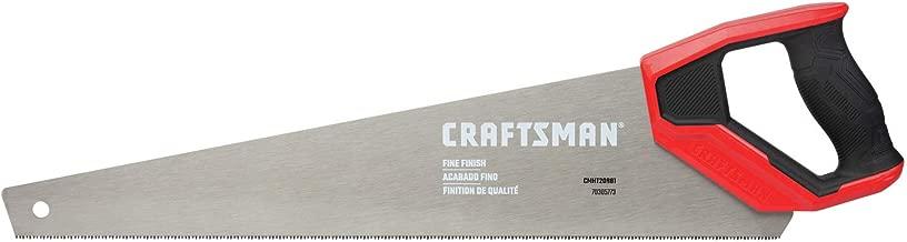 CRAFTSMAN Hand Saw, 20-Inch, Fine Finish (CMHT20881)
