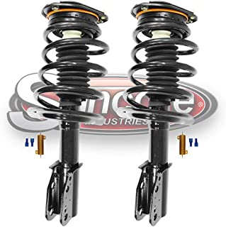 Front Magnetic Ride to Passive Quick Complete Strut Assemblies w//Resistors Conversion Kit Compatible with 2007-2017 Cadillac Escalade ESV