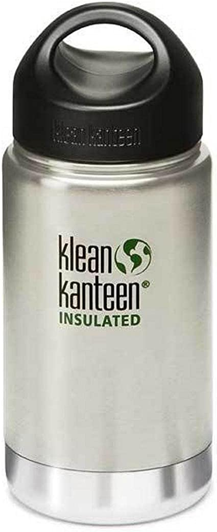 Klean Kanteen Acero Inoxidable Botella con Cafe Cierre al vac/ío Insulated Wide