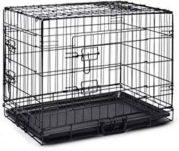 """48"""" Pet Dog Cage Collapsible Metal Crate Kennel Portable Puppy Cat Rabbit House"""