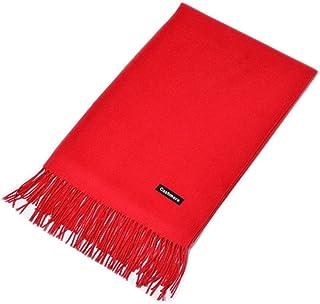 28d826d4e2ec5 MMYOMI Écharpe Souple en Cachemire Super Soft Plaid Solide Pashmina  Emballage Châle Écharpe pour Femmes Hommes