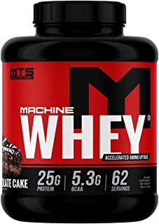 MTS Machine Whey Protein (5lbs, Triple Chocolate Cake)