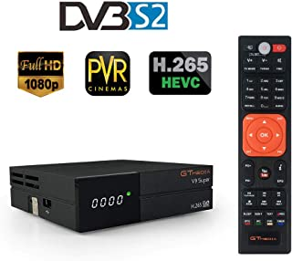 comprar comparacion GT Media V9 Super DVB-S2 Receptor de TV HD 1080P Receptor de TV Digital Receptor de transmisión de Video Digital Soporte W...