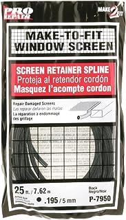 Prime-Line Products P 7950 Screen Retainer Spline, .195-in, 25-ft, Black