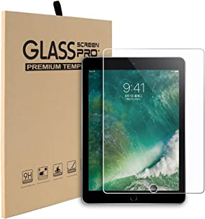 New iPad 9.7'' (2017), iPad Air 1 2, Pro 9.7'' Screen Protector, Abestbox 9H HD Premium Tempered Glass for iPad Air/Air2/Pro 9.7''/New iPad 9.7'' (2017), 99.9% Light Transmission