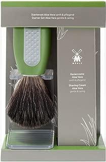 Muhle Wet Shaving Starter Set, Aloe Vera