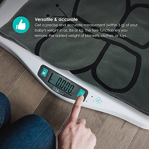 bblüv - Kilö - Smart and Precise Digital Baby Scale for Infants and Toddlers up to 44 lbs