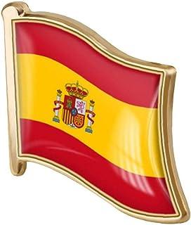 1pc De La Solapa De La Bandera De España Pin Pin De La Solapa De Metal Broche De La Bandera Española Regalo De La Novedad ...