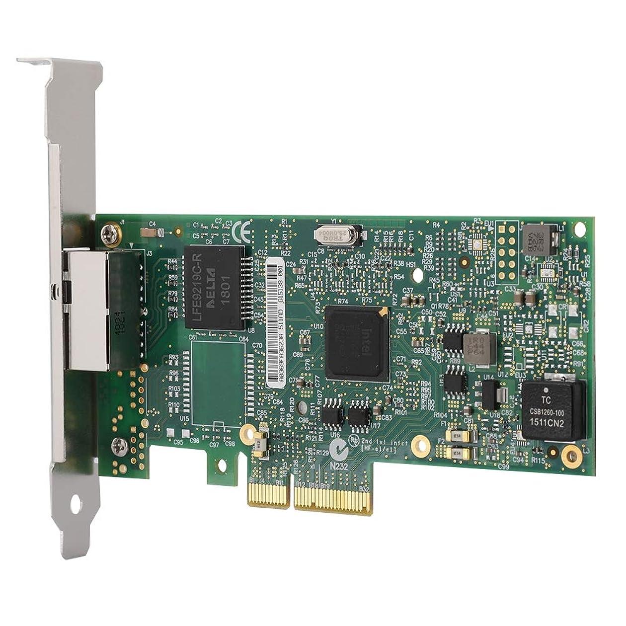 実り多い安全性ステレオタイプfosa PCI-EX4 デュアルポートネットワークアダプター Intel I350-T2A2用 サーバーネットワークカードアダプター デュアルポートギガビットLANカードアダプター インターネットカフェ/オフィス/データサーバー用