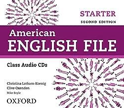 American English File 2E Starter Class Audio CDS