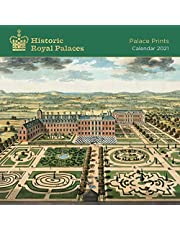 Historic Royal Palaces - Palace Prints 2021: Original Flame Tree Publishing-Kalender [Kalender]