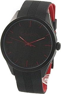 [カルバンクライン]Calvin Klein CK メンズ レディース ユニセックス color カラー ブラック レッド ラバー K5E51TB1 腕時計 [並行輸入品]