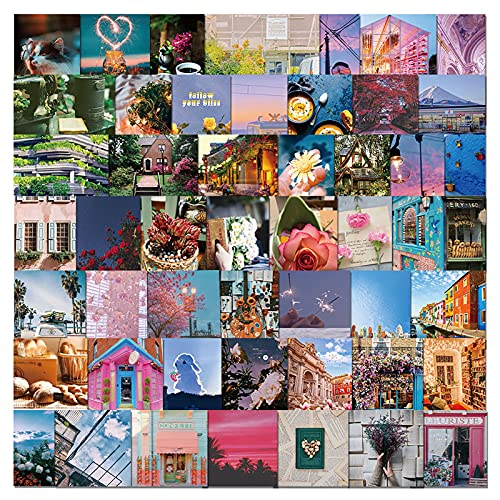 WFZ17 Valigia Sticker 50Pcs Fashion Easy Use Exquisite Decorative Bagagli Sticker