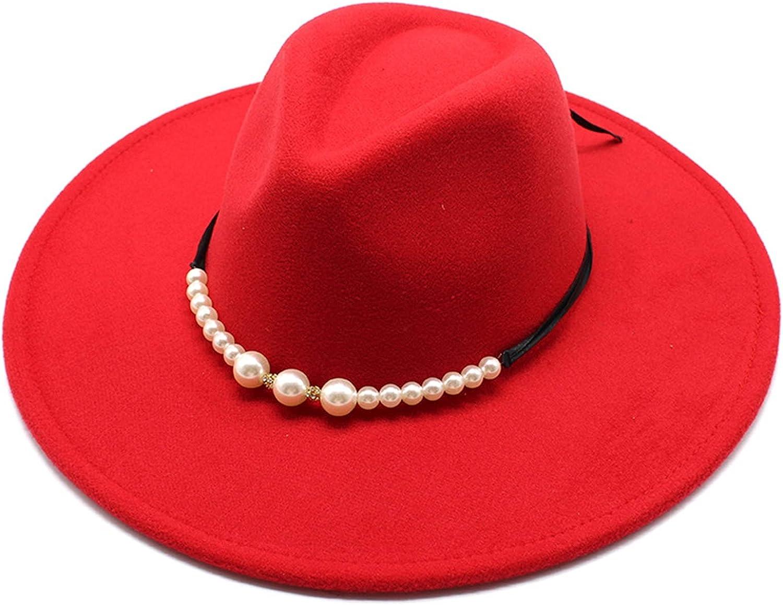 Excellence HHF Caps Hats 9.5cm Brim Winter Wome New sales Cap Men Wool Felt Fedoras
