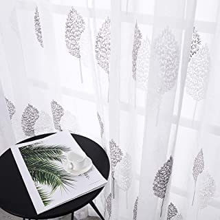 semi sheer patterned curtains