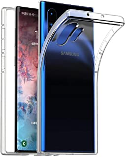 Galaxy Note 10 Plus Case/Note 10 Plus 5G Case Crystal Clear Ultra Thin Slim Fit Soft TPU Cover Compatible with Samsung Galaxy Note 10 Plus 6.8 inch, Clear Color