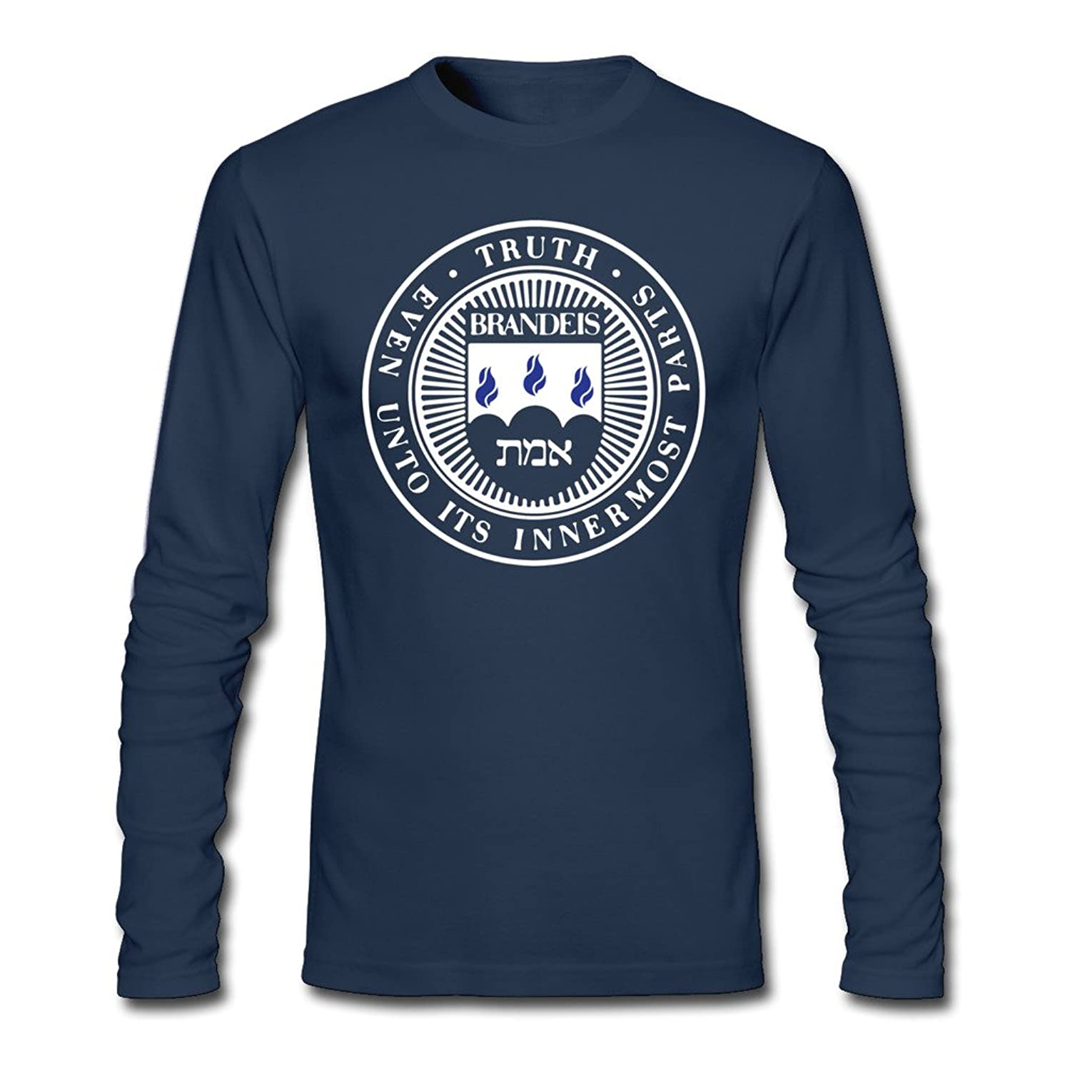 Men Brandeis University Long Sleeve T-Shirt Navy