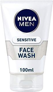 NIVEA Men Sensitive Face Wash, Instant Relief, 100ml