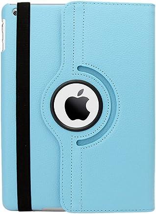 Natico iPad Air 2 360 Case Faux 浅蓝