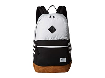 adidas Classic 3S Plus Backpack (White/Black) Backpack Bags