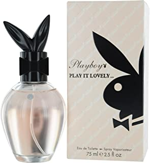 Playboy Play It Lovely Women Eau De Toilette Spray, 2.5 Ounce