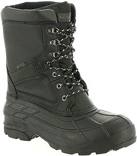 حذاء Kamik NATIONPROW Snow للرجال، أسود، عرض 11 US