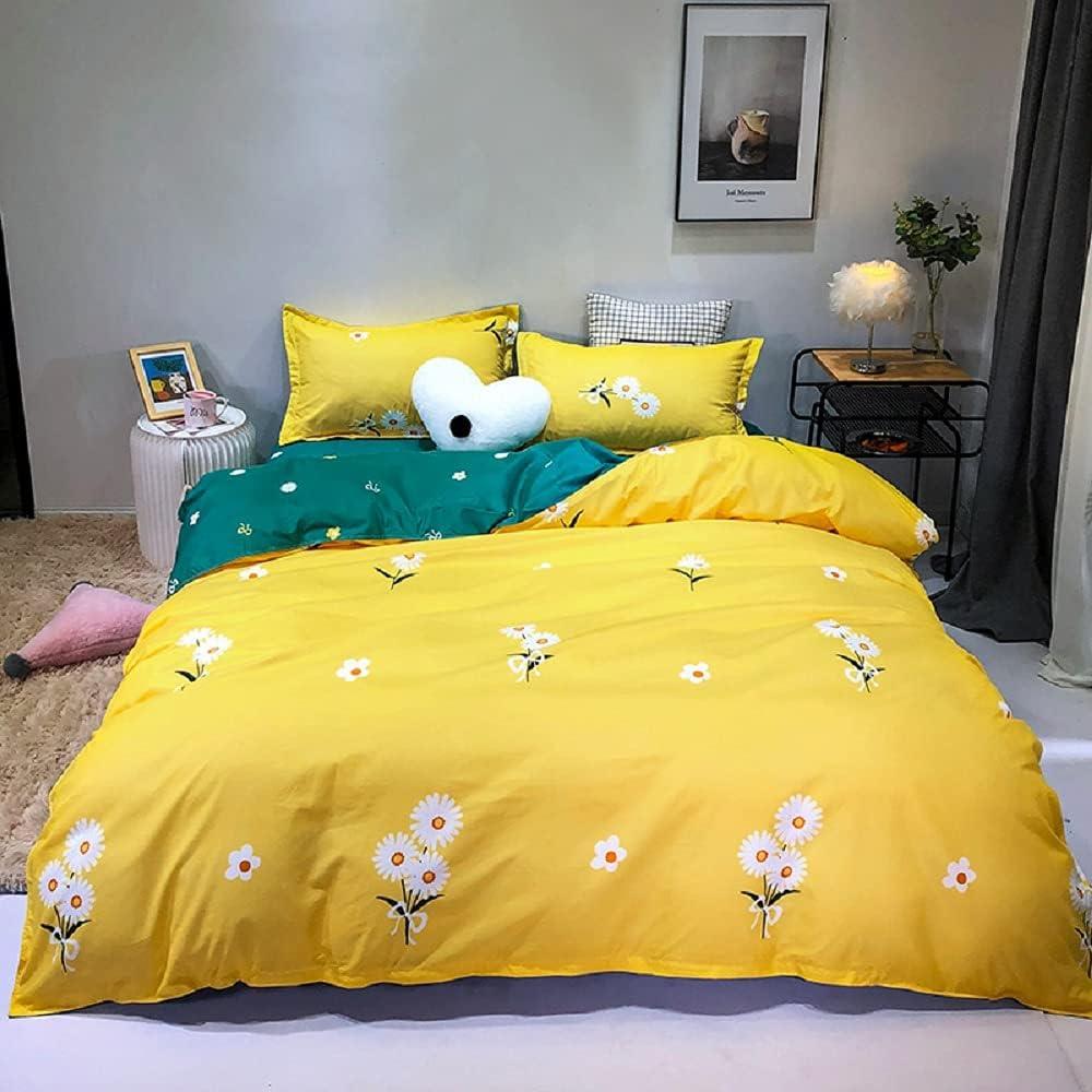 Erosebridal Botanical 40% OFF Cheap Sale Max 71% OFF Bedding Set Garden Duvet Flower Cover Quee