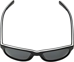 Gloss Black/White/Gloss Black/Gray Polarized Lens