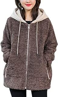 Womens Long-Sleeve Cardigan Warm Hoodies Jacket Winter Coat Outwear