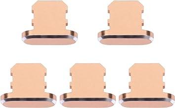 UKCOCO Conjunto de Plugue Anti-Poeira 5Pcs Kit de Limpeza de Telefone Celular Porta de Carregamento Usb Cobre Plugues de F...