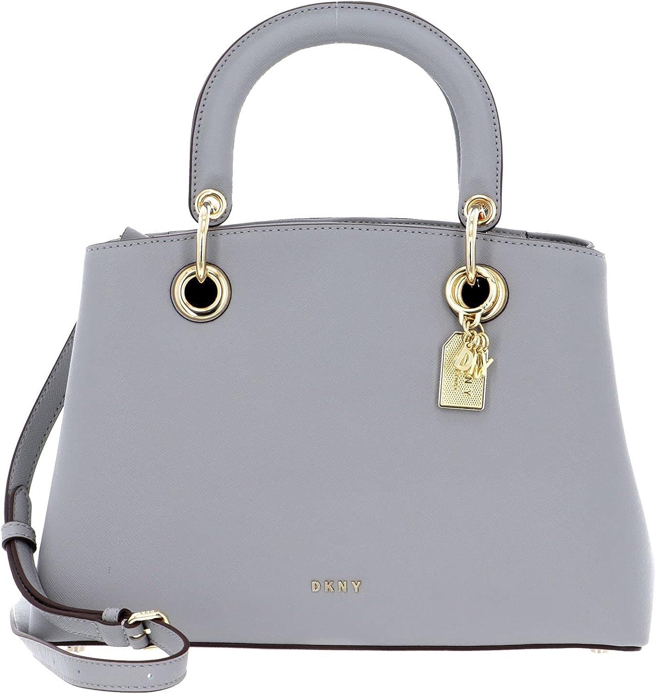 DKNY Tonny Satchel Bag Grey Melange