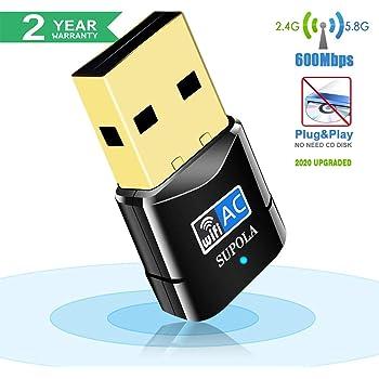 USB inalámbrico Wifi Adaptador, AVACON USB WiFi Dongle, 150 Mbps 2 ...