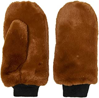 Only Women's Furry Faux Fur Mittens