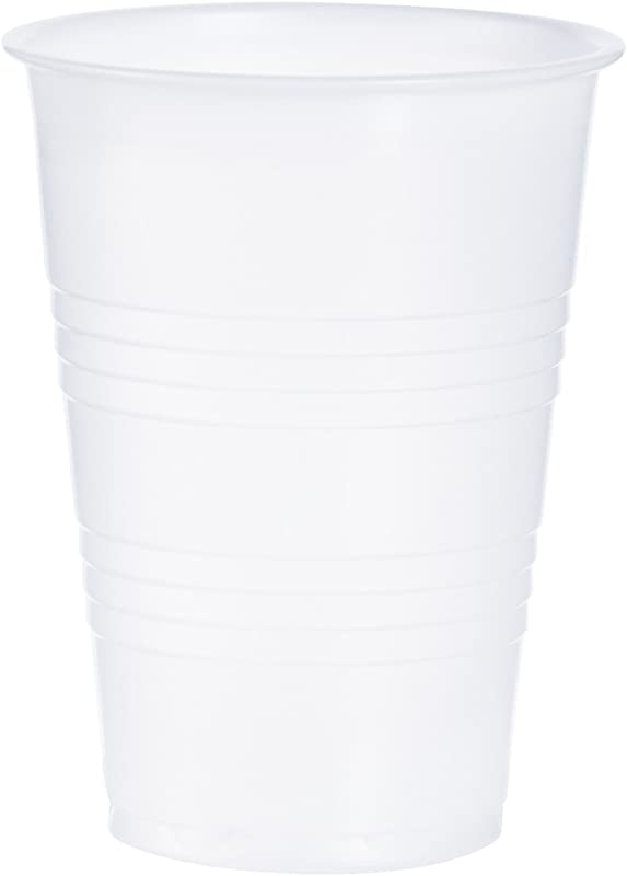 Dart Y10 10 Oz Trans Ribbed Wall PS Cup Case Of 2500