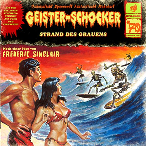Strand des Grauens audiobook cover art