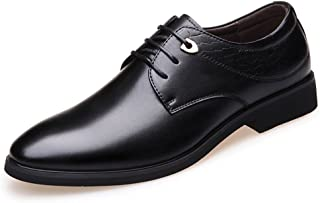 MIKA HOM New Men's Casual Pointed Shoes Youth Large Size Shoes Trend Dress Shoes
