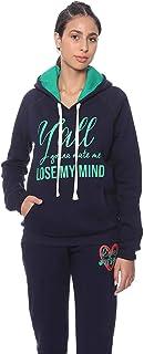 Bella Cotton BCW524P Printed Kangaroo Pockets Hooded Sweatshirt For Women