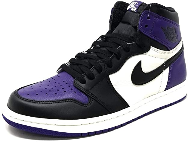 Novedad deberes Franco  Amazon.com | Nike Men's Air Jordan 1 Retro High OG 'Court Purple'  555088-501 (Size: | Basketball