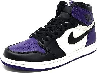 Air Jordan 1 Retro High OG 555088 (9.5, Court Purple)